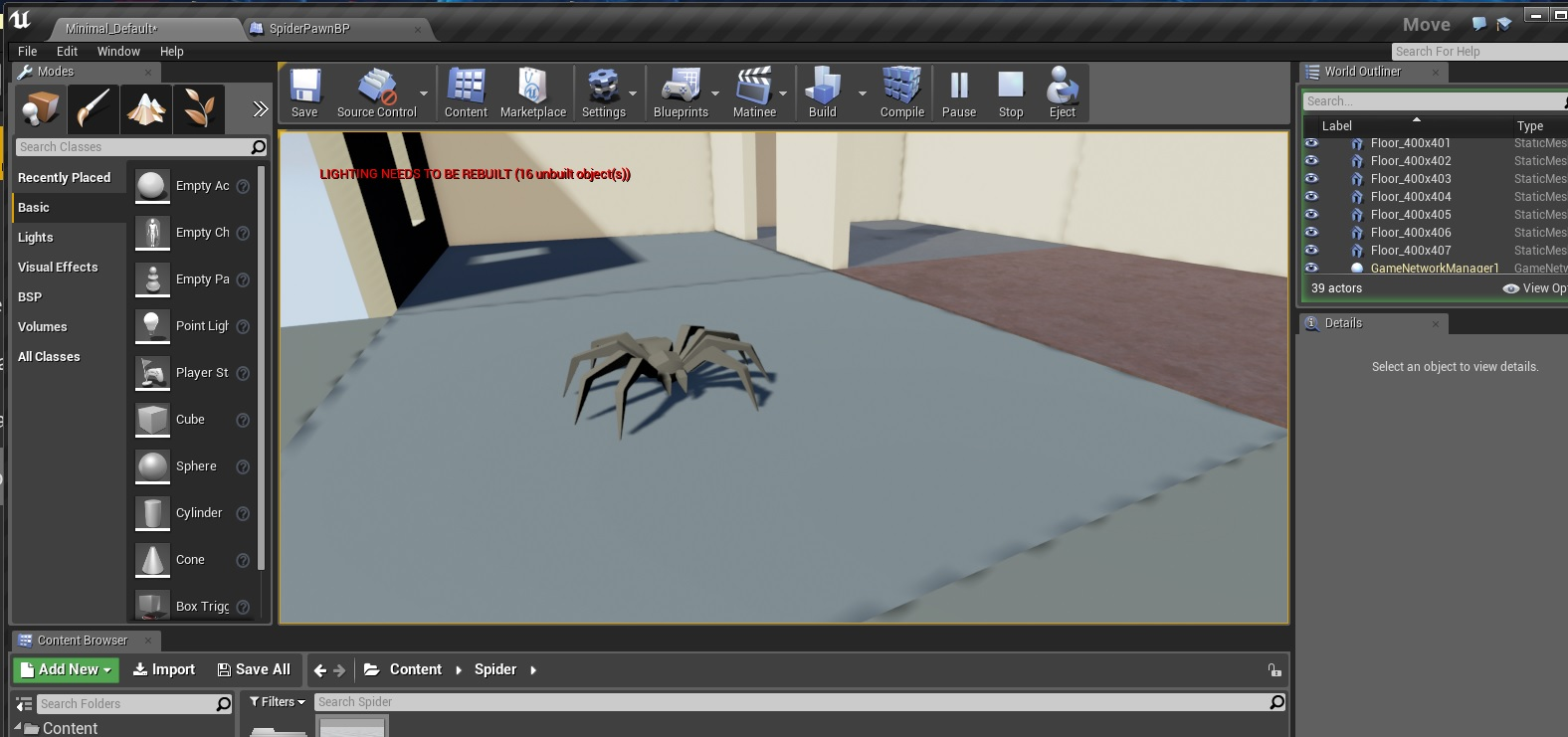 UE4 C++ How to make a Spider in UE4 Part 3 | Mike-Purvis com