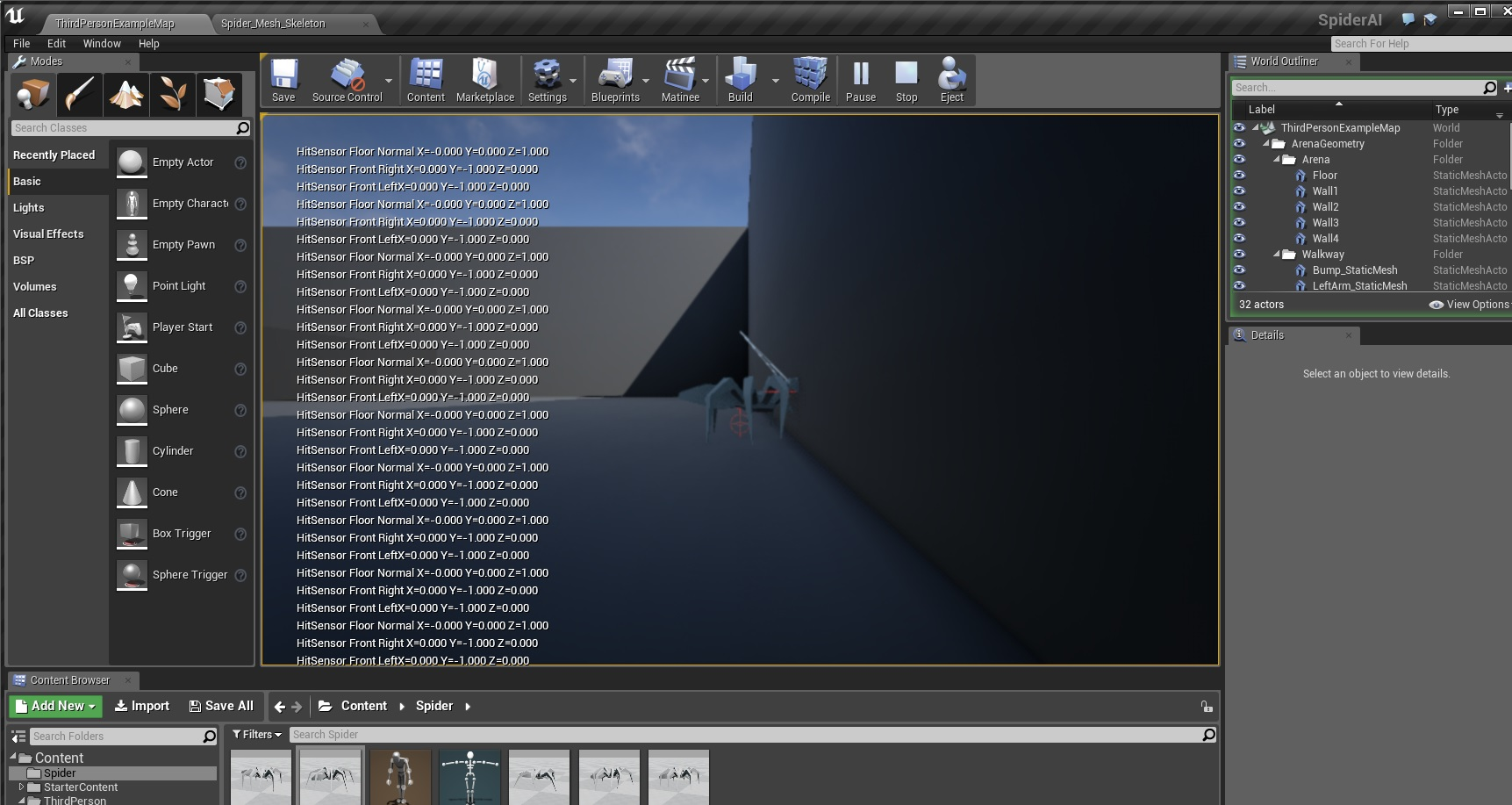 Mike purvis game programming unreal engine 4 c part 2 spiderhitnormal malvernweather Images